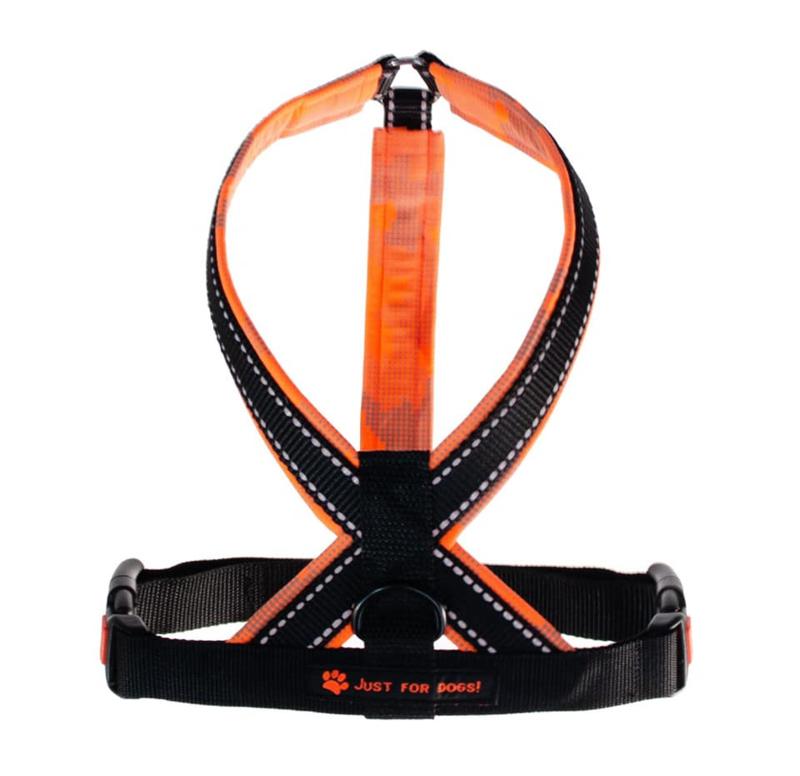 Y Tuig Reflectie Oranje softshell L
