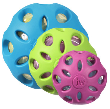 Crackle bal 5,5cm blauw