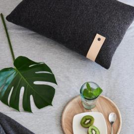 Moyha - Homely kussen - Antractiet - 60 cm x 40 cm