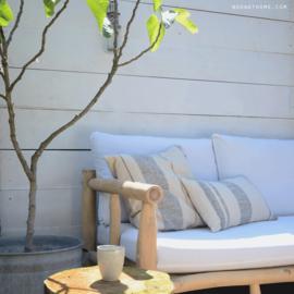 House Doctor - Morocco - kussenhoes beige 50 x 50 cm