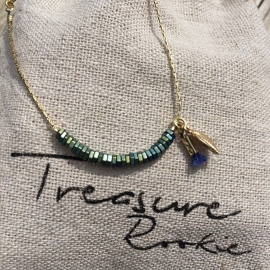 Treasure Rookie armband - Columbussy - blauw