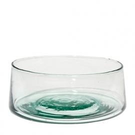 Glazen schaal - 16 cm