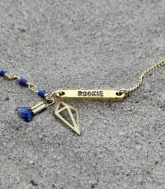 Treasure Rookie armband- Trophy Hunt - blauw