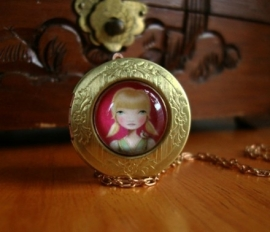 Vintage medaillon Emma