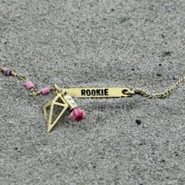 Treasure Rookie armband- Trophy Hunt - Roze