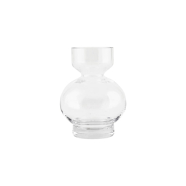 Vaas - Clear vase lowa  - House Doctor -16 cm