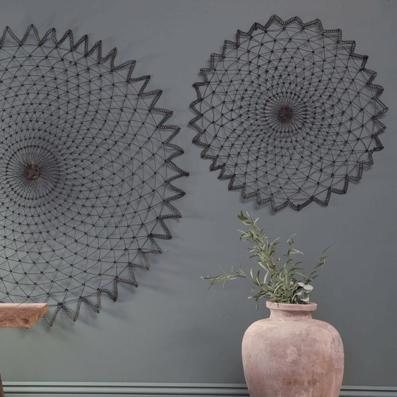 Nkuku - Arna Wall art - ijzeren wanddecoratie