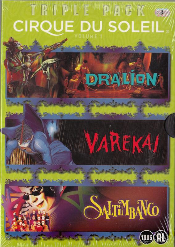 Cirque du Soleil - Dralion-Varekai - Saltimbanco