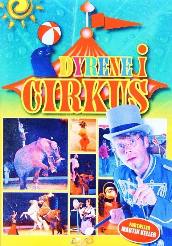 DVD Dyrene i cirkus Danmark
