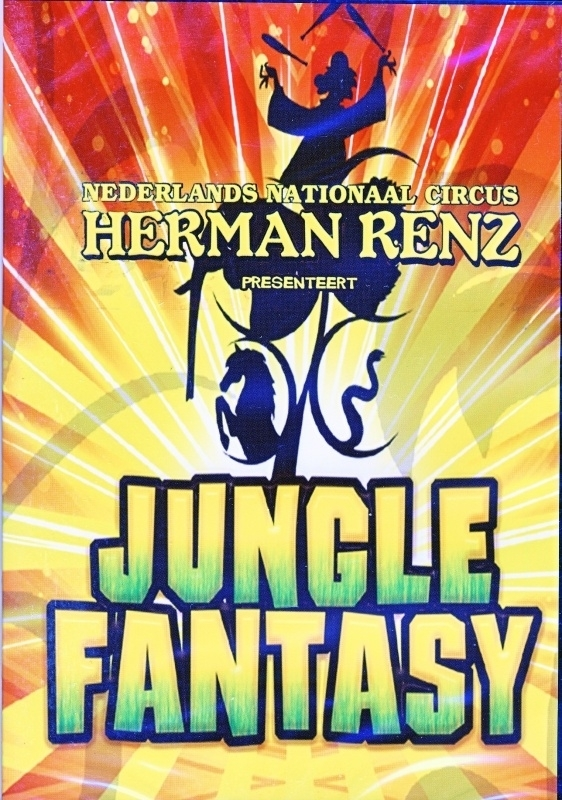 DVD Herman Renz Jungle Fantasy 2010