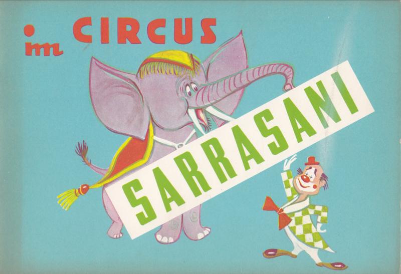 Im Circus Sarrasani - Childrenbook.