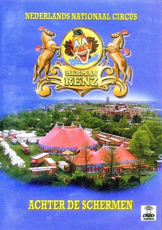 DVD Herman Renz Achter de schermen 2008