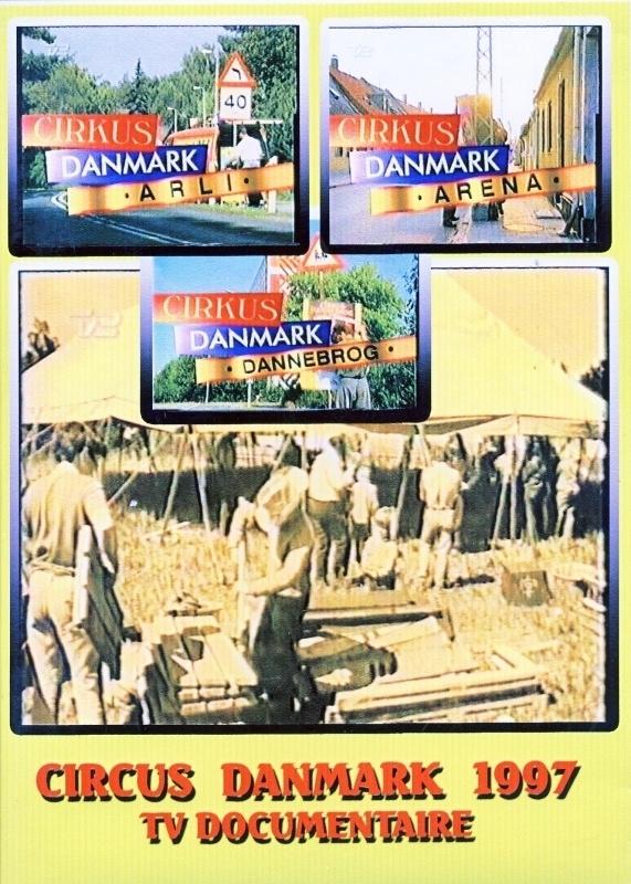 DVD Circus in Danmark 1997