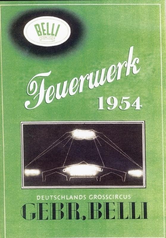 DVD Belli Feuerwerk 1954
