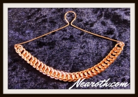 Necktie chain copper