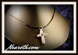 Pendant cross silver (925)