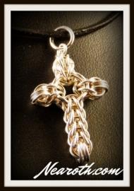 Hanger kruisje zilver (925)