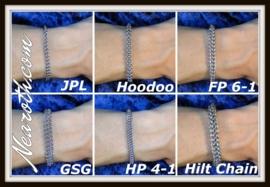 Stalen armband 15cm m8