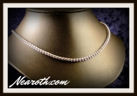 Steel necklace JPL 46,5cm m8