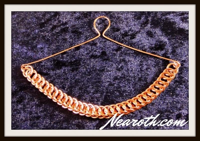 Necktie chain copper
