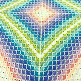 YLA Style Haakpatroon Hydrangea Dreams Deken
