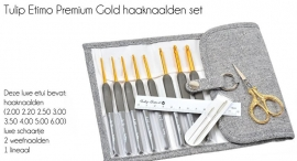 Tulip Etimo haaknaaldenset Premium Gold