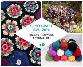 Haakpakket Stylecraft CAL 2016 Frida's Flowers Special DK