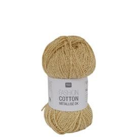 Rico Design Fashion Cotton Métallisé 017