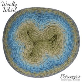 Scheepjes Woolly Whirl 473 Kiwi Drizzle