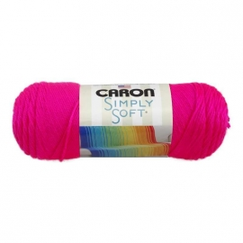 Caron Simply Soft 9775 Neon Pink