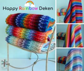 Haakpakket Happy Rainbow Deken