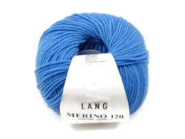 Lang Yarns Merino 120 00206 Blauw