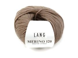 Lang Yarns Merino 120 0126 Taupe