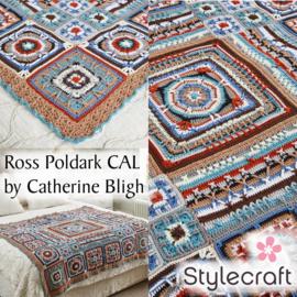 Haakpakket Stylecraft Ross Poldark CAL 2017 - Original