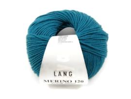 Lang Yarns Merino 120 0272 Zeegroen