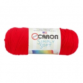 Caron Simply Soft 9729 Red