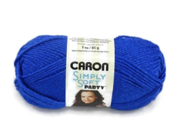Caron Simply Soft Party 0005 Royal Sparkle