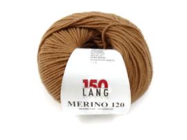 Lang Yarns Merino 120 0439 Lichtbruin