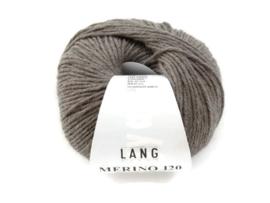 Lang Yarns Merino 120 0326 Taupe Melange