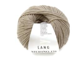 Lang Yarns Merino 120 0226 Zand Melange