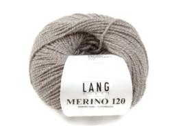 Lang Yarns Merino 120 0052 Zand Grijs Mix