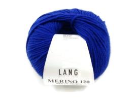 Lang Yarns Merino 120 0106 Koningsblauw
