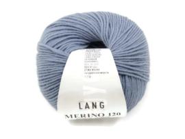 Lang Yarns Merino 120 0134 Vintage Blauw