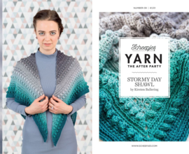 Haakpatroon YARN  Stormy Day Shawl