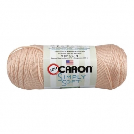 Caron Simply Soft 9737 Light Country Peach