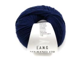 Lang Yarns Merino 120 0035 Marine