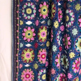 Haakpakket Summer Palace Deken - Roze/Blauw