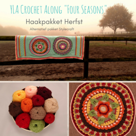 Alternatief Haakpakket YLA CAL Four Seasons - Stylecraft Special DK Herfst