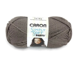 Caron Simply Soft Party 0017 Chocolate Sparkle