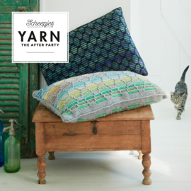 Haakpatroon YARN Honeycomb Cushion